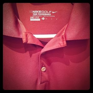 Mens M Nike Golf Polo